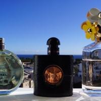 3x Summerproof fragrances | Marc Jacobs Daisy, Yves Saint Laurent Black Opium + Chanel Chance