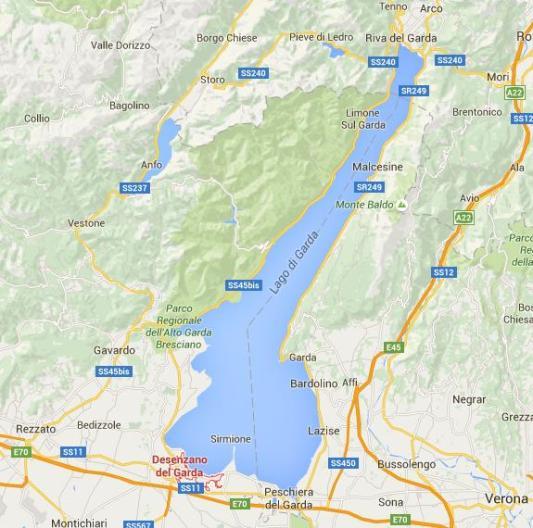 maps desenzano
